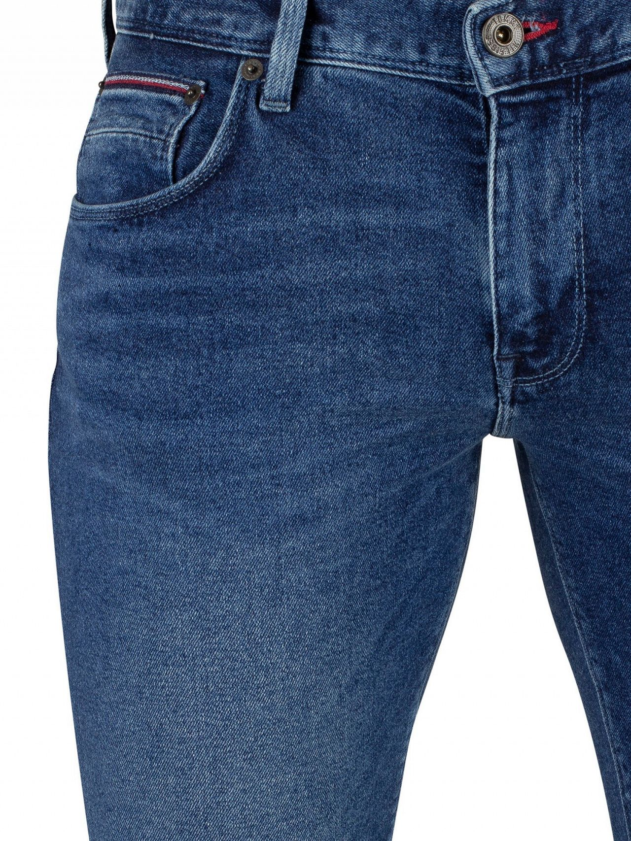 90422822 Tommy Hilfiger Elmore Indigo Denton Straight Fit Jeans | Standout