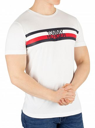 Tommy Hilfiger Bright White Logo T-Shirt