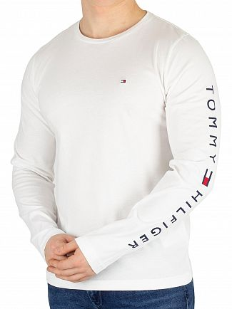 Tommy Hilfiger Bright White Longsleeved T-Shirt