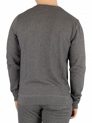 Tommy Hilfiger Dark Grey Heather Track Tapered Sweatshirt