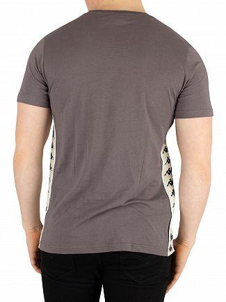 Kappa Grey Black/Beige Banda Bzaiki T-Shirt