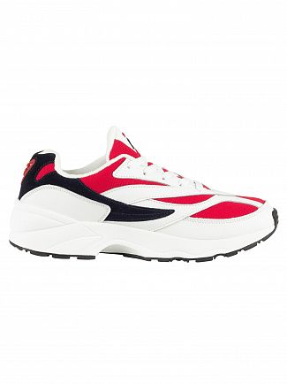 Fila Vintage White/Navy/Red 94 Low Trainers