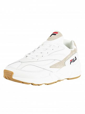 Fila White 94 Low Trainers