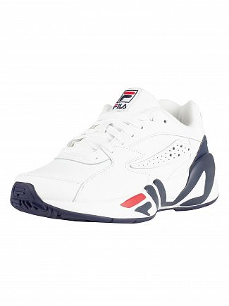 Fila Vintage White/Navy/Red Mindblower Trainers