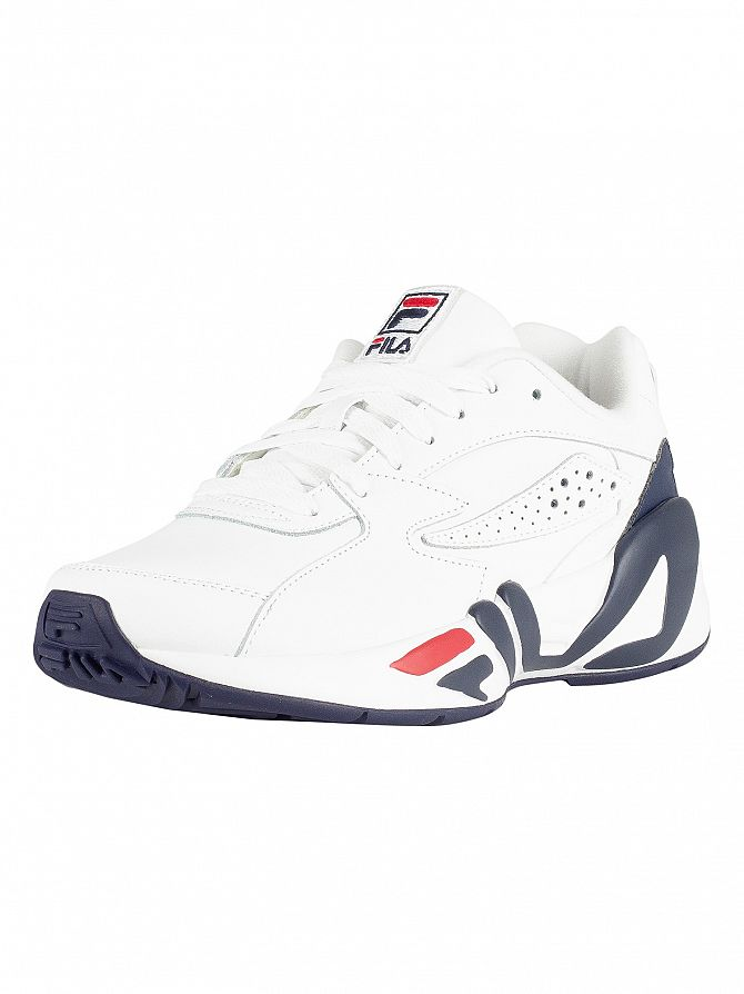 Fila White/Navy/Red Mindblower Trainers