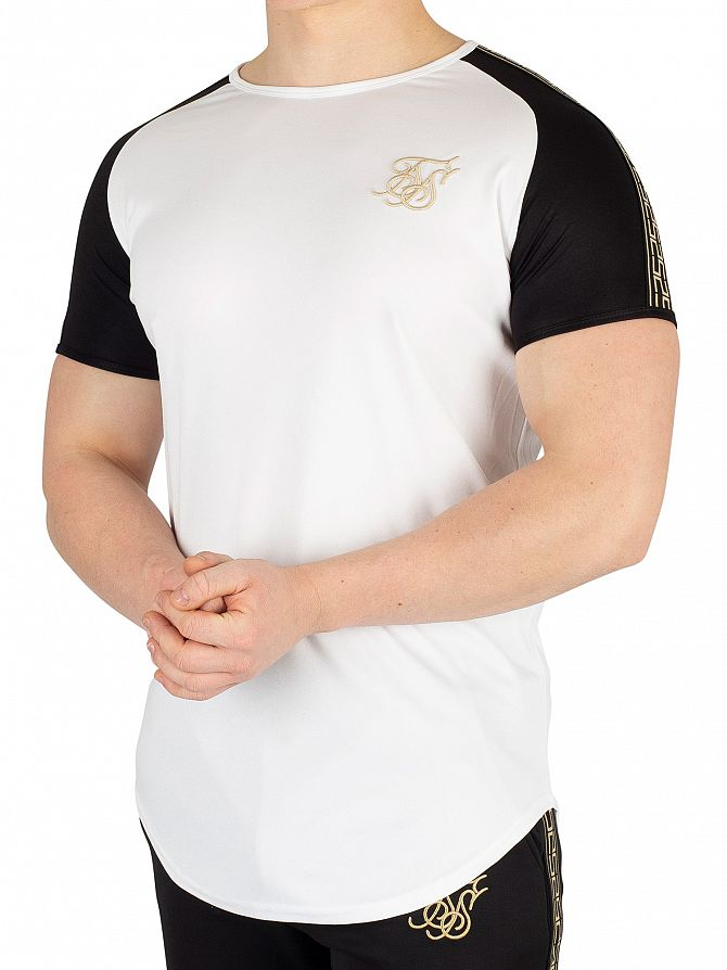 Sik Silk White Performance T-Shirt