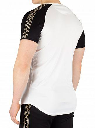 Sik Silk White Performance T-Shirt