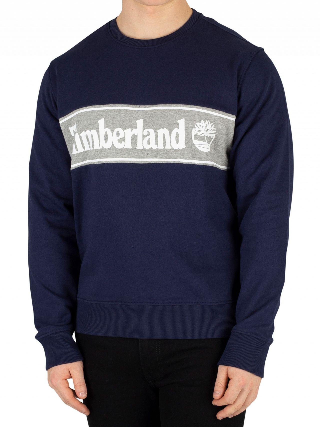 9ad594521e4 Timberland Black Iris Navy Cut   Sew Sweatshirt