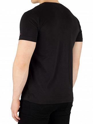 Tommy Hilfiger Jet Black Logo T-Shirt