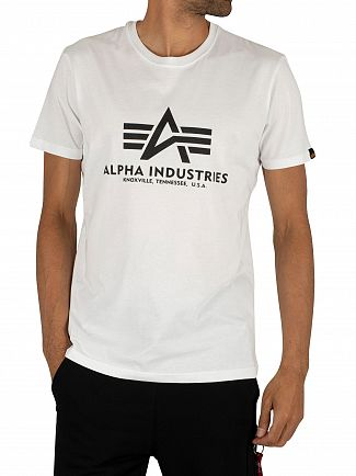 Alpha Industries White Basic T-Shirt