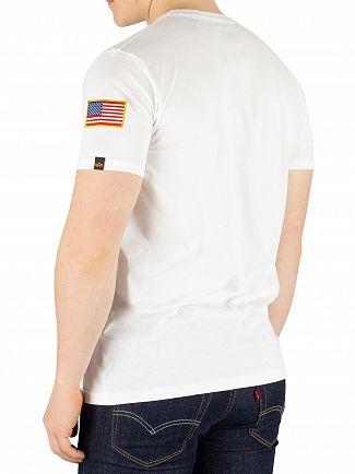 Alpha Industries White NASA T-Shirt