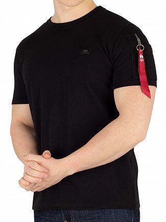 Alpha Industries Black X-Fit Heavy T-Shirt