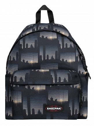 Eastpak Upper East Stripe Padded Pak'R Backpack
