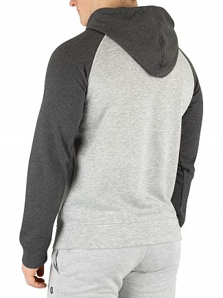 Jack & Jones Light Grey Leon Pullover Hoodie