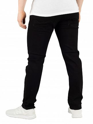 Jack & Jones Black Denim Original Mike 816 Jeans
