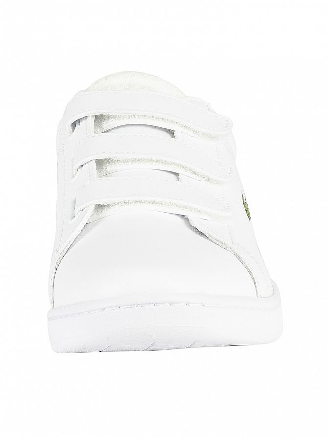 65774e99b1353 Lacoste Men s Carnaby Evo Strap 119 3 SMA Leather Trainers