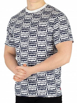 Levi's Dress Blue Oversized Graphic T-Shirt