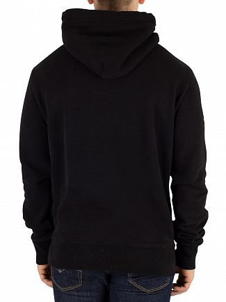 Superdry Black Vintage Logo Camo Pullover Hoodie