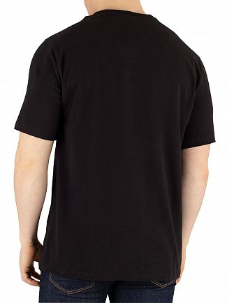 Tommy Hilfiger Black Middle Logo T-Shirt