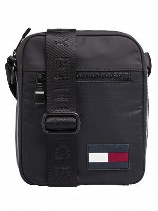 Tommy Hilfiger Black Sport Mix Mini Reporter Bag