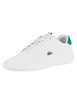 Lacoste White/Green Avance 119 1 SMA Trainers