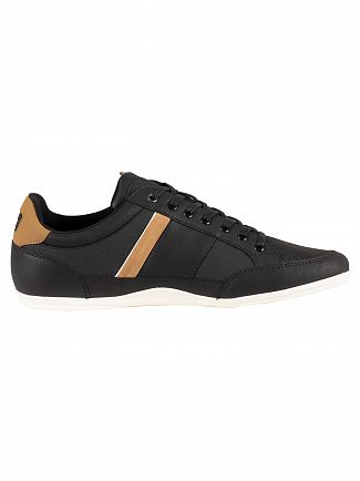 Lacoste Black/Light Brown Chaymon 119 5 CMA Trainers