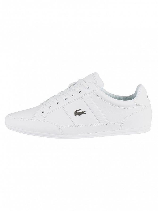 909d5e76f72f4 Lacoste Men s Chaymon BL 1 CMA Leather Trainers