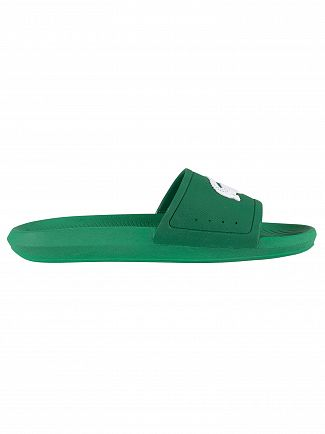 Lacoste Green/White Croco 119 1 CMA Sliders