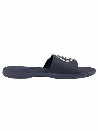 Lacoste Navy/White L.30 119 3 CMA Sliders
