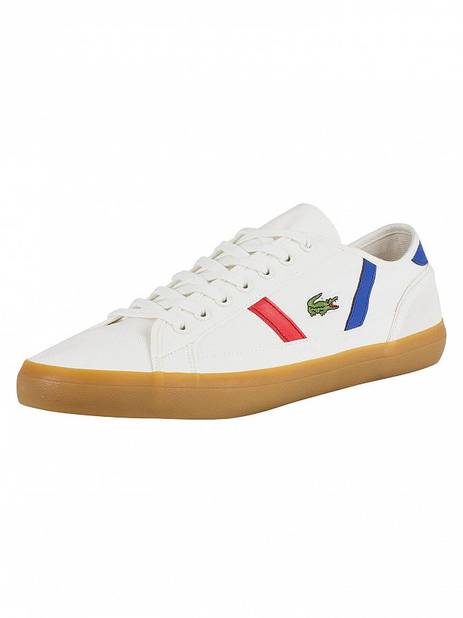 Lacoste Off White / Gum Sideline 119 2 CMA Trainers