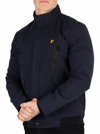 Lyle & Scott Dark Navy Panelled Jacket