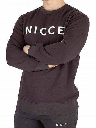 Nicce London Coal Original Logo Sweatshirt