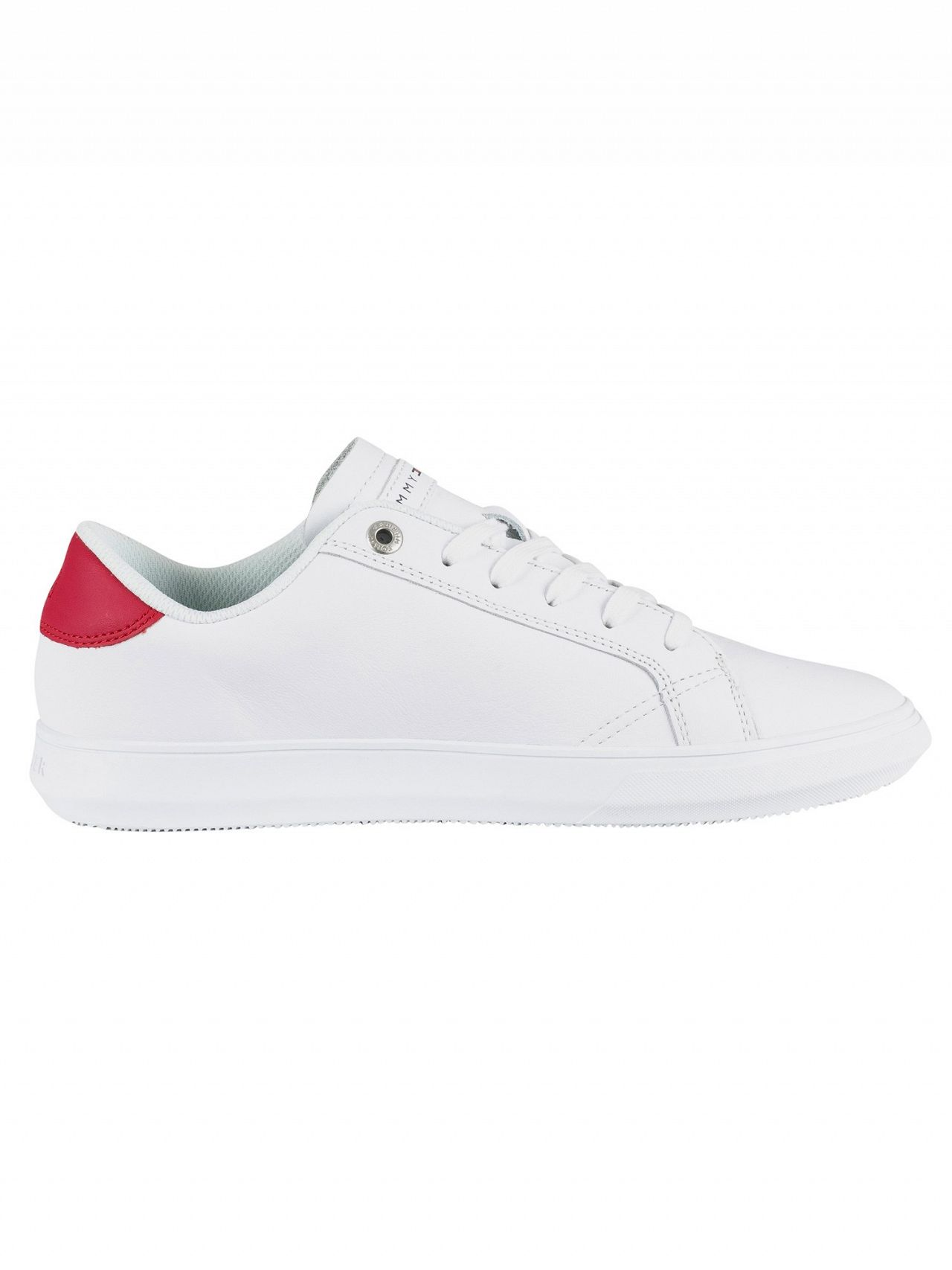 78e2c7c45efe Tommy Hilfiger White Essential Leather Cupsole Trainers