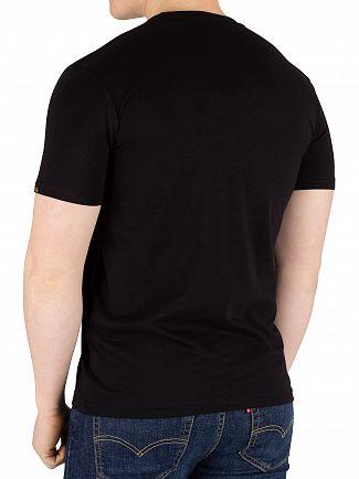 Alpha Industries Black/Gold Basic T-Shirt