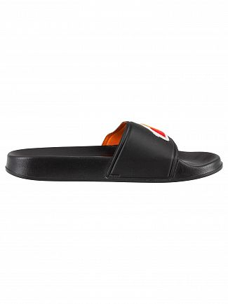 Ellesse Black Filippo Logo Sliders
