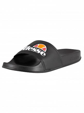 Ellesse Black Filippo Sliders