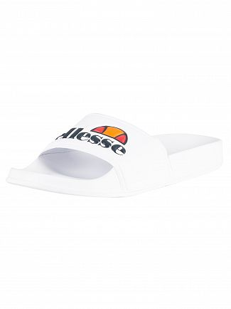 Ellesse White Filippo Sliders