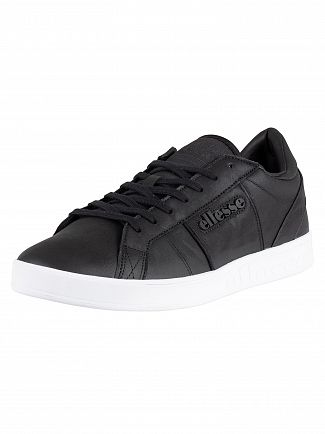 Ellesse Black LS-80 Leather Trainers