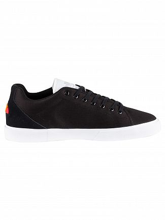 Ellesse Black Taggia Canvas Trainers