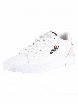 Ellesse White Taggia Canvas Trainers