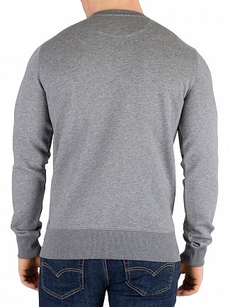 Gant Dark Grey Melange Original Sweatshirt