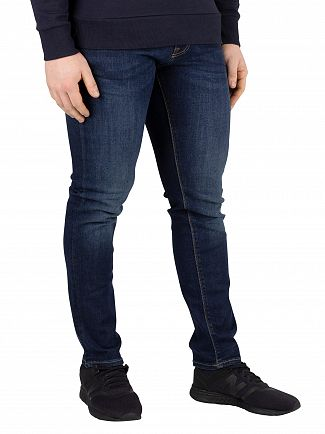 Jack & Jones Blue Denim Glenn Slim Fit 743 Jeans