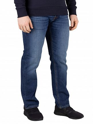 Jack & Jones Blue Denim Mike Original 814 Jeans