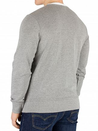 Jack & Jones Light Grey Melange Shakedown Sweatshirt