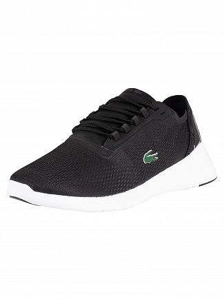 Lacoste Black/White LT Fit 119 1 Textile Trainers