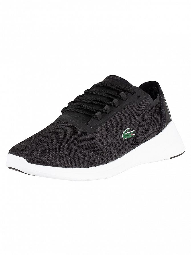 Lacoste Black/White LT Fit 119 1 Textile Trainers