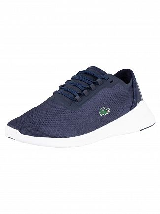 Lacoste Navy/White LT Fit 119 1 Textile Trainers