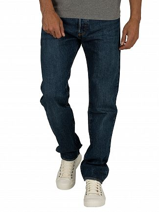 Levi's Luther Blue 501 Original Fit Jeans