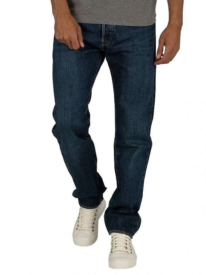 Levi's Luther Blue 501 Original Fit Jeans