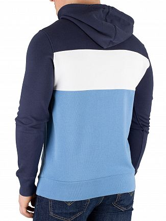 Levi's Dress Blue Colorblock Pullover Hoodie